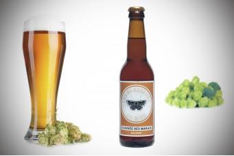 Bière artisanale ambrée Cuivrée des Marais