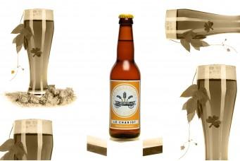 Bière artisanale blanche : Le Chariot