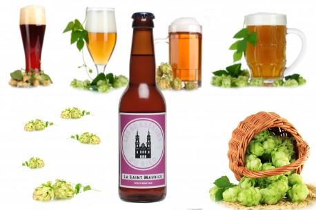 Bière artisanale blonde : La St Maurice