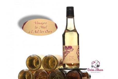 Vinaigre de miel Ail des Ours
