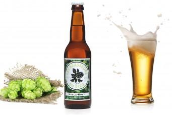 Bière artisanale blonde : HOPLA'HOPF