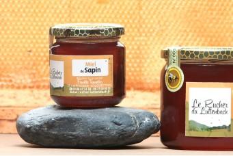 Miel Alsace IGP - Miel de Sapin pot 250g