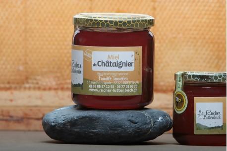 Miel Alsace IGP - Miel Châtaignier pot 250g
