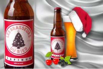 Bière de Noël : Sapinus Brasseurs du Ried