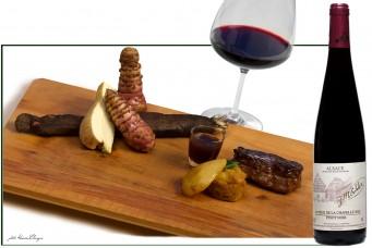 Vin d'Alsace AOC, Pinot Noir La Pièce de la Chapelle