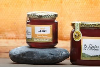 Miel Alsace IGP - Miel de Forêt pot 250g