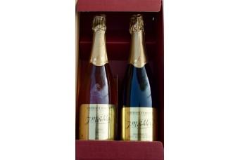 Coffret cadeau - Deux Crémants d'Alsace
