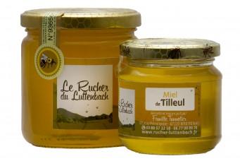 Miel d'Alsace IGP - Miel de Tilleul pot 250g